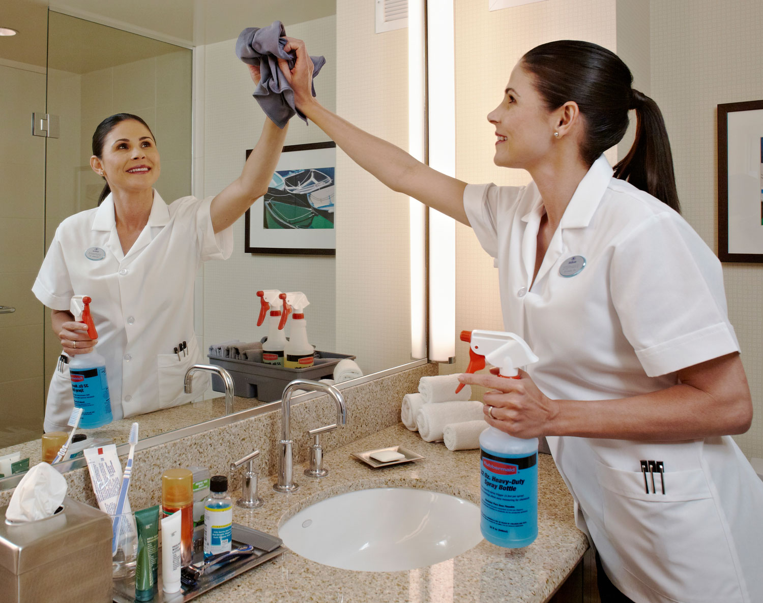 Staying clean doesn't have to mean chemicals